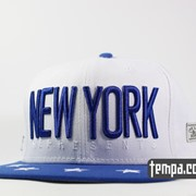 Кепка Snapback NEW YORK NY Cayler and Sons белая со звездами фото