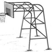 Стойка баскетбольная 3 фото
