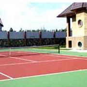 Услуги по строительству теннисных кортов фото