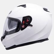 Мотошлем MT Blade SV Solid White с очками. фото
