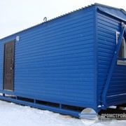Мобильное здание на санях 2,5х8м. фото