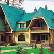 Дом из бревна фото