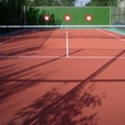 Покрытие для теннисных кортов фото