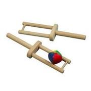 ИА Набор - 2 деревянные ракетки с мячом арт. ИА22926 фото