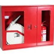 Шкафы пожарные, Шкаф пожарный для пожарных рукавов и огнетушителя, Шкаф пожарный. фото
