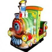 Электрокачалка с видеоигрой Kiddie train фото