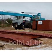 Мойка колес грузового автотранспорта НЕВА 200.2 для стройплощадок фото