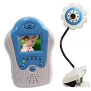 """Видеоняня с монитором, LCD 1,5"""" синий фото"""