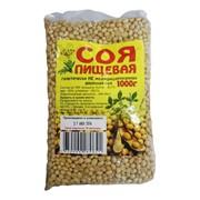 Соя пищевая Амурская, 1 кг фото