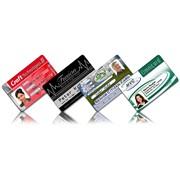Персонализация пластиковых карточек фото