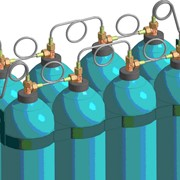 Аренда баллонов для технических газов фото