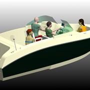 Моторный катамаран Water Spirit А1 Серийная модель. фото