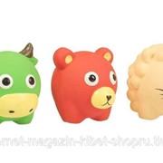 Игрушка для собак латексная Бычок, Лев, Медведь, (разные виды - не набор) (1шт.) DUVO+ фото
