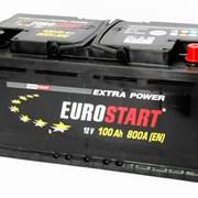 Аккумулятор автомобильный EUROSTART 100 (R +) фото