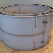 Форма КС 15.9 для производства колодезных колец - Формы для производства бетонных изделий фото