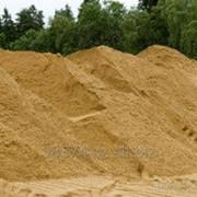 Песок мытый, барханный. фото