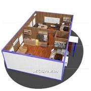 Одноэтажное модульное здание фото