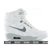 Кроссовки Nike Air Revolution Sky Hi White/Wolf Grey арт. 23105 фото