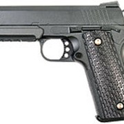 Пистолет GALAXY G.25 Air Soft к.6мм (пружин.) (Colt 1911 PD Rail) (60-70 м/с) фото