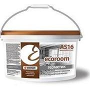 Герметик Ecoroom AS 16 для деревянного строения, белый 15кг фото