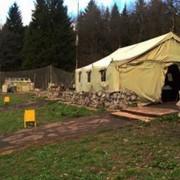 Палатка УЗ-68 Палатка армейская брезентовая УСБ 56 фото