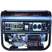 Электростанция бензиновая Magnum LT 8000BE, 6,5 КВт, 220V, электростартер фото