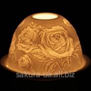 Подсвечник / Фарфор / Цветы Роза s09617 фото