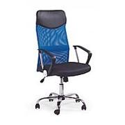 Кресло компьютерное Halmar VIRE (черно-синий) фото