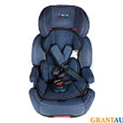 Кресло детское автом XL 518 с isofix синий фото