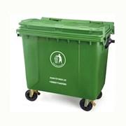 Контейнер для мусора 660 лт  фото