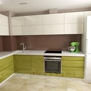 Кухня зелень 12 м2 фото