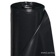 Пленка п/э черная 150 мкм. 6х65 м. фото