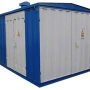 Подстанции трансформаторные комплектные КТПГСМ-100...1000\10\0,4 У1 для городских электрических сетей фото