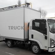 Автомобиль ISUZU NLR 85 AL сэндвич-панельный фургон фото
