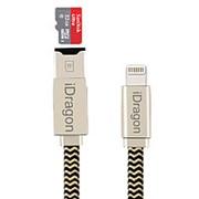 Кабель зарядка lightning и Card Reader iDragon RC001 2 в 1 фото