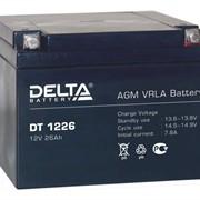 Аккумуляторы Delta серии DT фото
