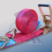 Ремни для крепления груза 5000 daN 5т 10метров (стяжные ремни) фото