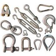 Крепежные материалы для строп, канатов, троса фото