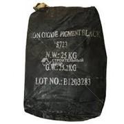 Краситель для бетона чёрный мешок 25 кг фото