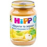 Пюре Hipp 190г каша Зерн с ябл банан и печеньем, с 5мес фото