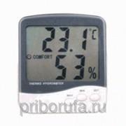 Цифровой гигрометр с термометром фото