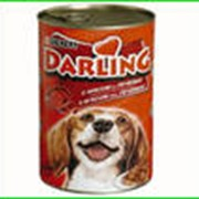 """""""Darling""""(дарлинг) Мясо, печень . Консерва 1,2кг фото"""