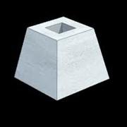 Фундамент для колонн фото