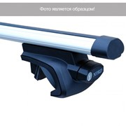 Багажная система NORD Elegant с дугами 1,2м в форме крыла без заглушек для а/м с рейл фото