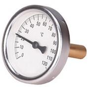 Термометр бим. D 100, L=50 мм, 120 гр., осевой фото