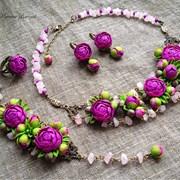 Украшения и цветы из полимерной глины! Подробнее:  фото