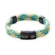 Colantotte Loop AMU bracelet Магнитный браслет, цвет Аква / Желтый, размер M фото