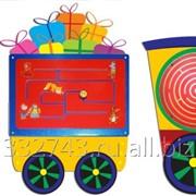 Игровой модуль Паровозик с вагончиками, арт. 426 фото