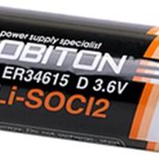 Батарейка Robiton ER34615 3,6V Элемент питания тип D фото