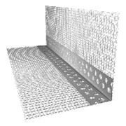 Профиль угловой ПВХ (с армирующей сеткой) 100х120 мм, 2,5 м фото